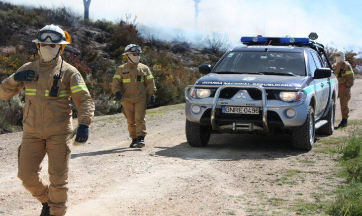Homem de 66 anos identificado por incêndio florestal em Odemira