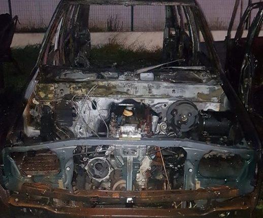 Homem detido em Elvas por suspeita de incendiar quatro carros