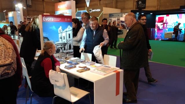 Évora promove-se na Feira Internacional de Turismo de Madrid