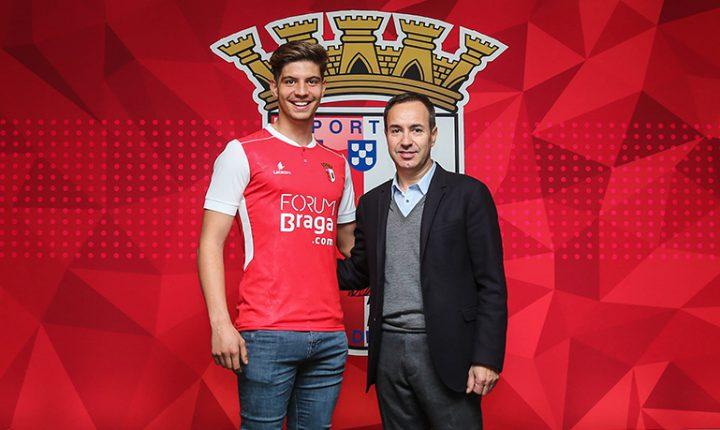Pedro Martelo vai jogar na equipa B do Sporting de Braga