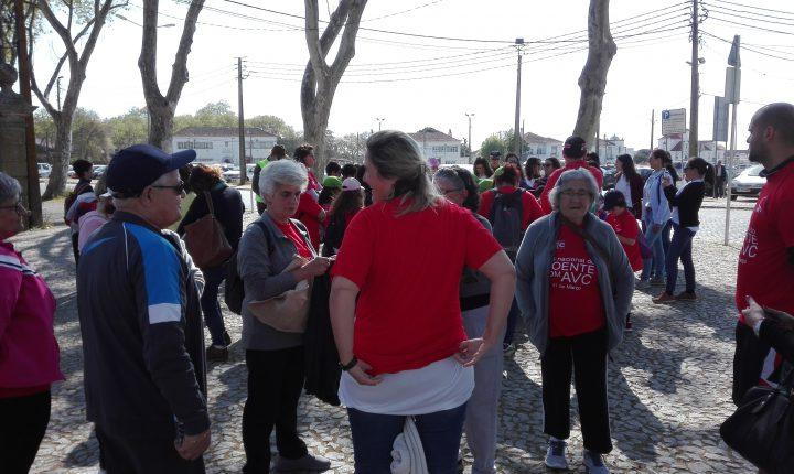 Caminhada em Évora alerta para os sinais de AVC