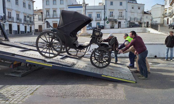 Duas carruagens doadas ao Paço Ducal de Vila Viçosa