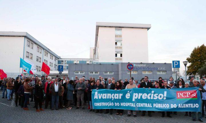 PCP pressiona Governo para iniciar obras do novo hospital de Évora