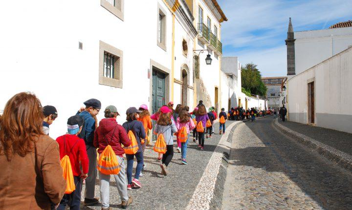 Caminhada marca início do Desafio da Saúde em Évora