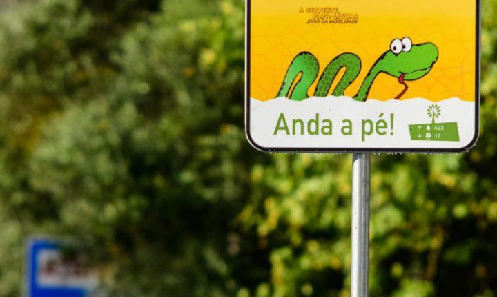 """Évora """"ganha"""" novo sinal de trânsito"""