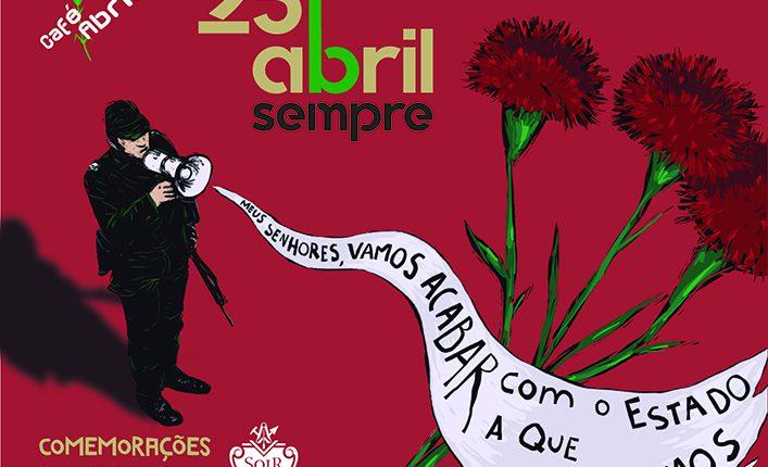 Concerto de PAUS em Évora para comemorar 25 de Abril