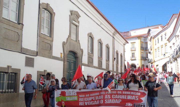 Manifestação em Évora comemora 1. de Maio
