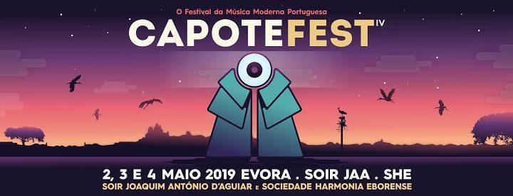 Capote Fest traz nove bandas portuguesas a Évora