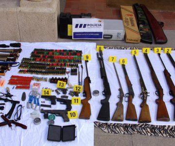 PSP apreende arsenal em armamento em Marvão