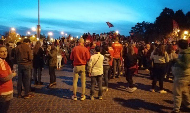 """Portas do Raimundo foram """"palco"""" dos festejos dos benfiquistas em Évora"""