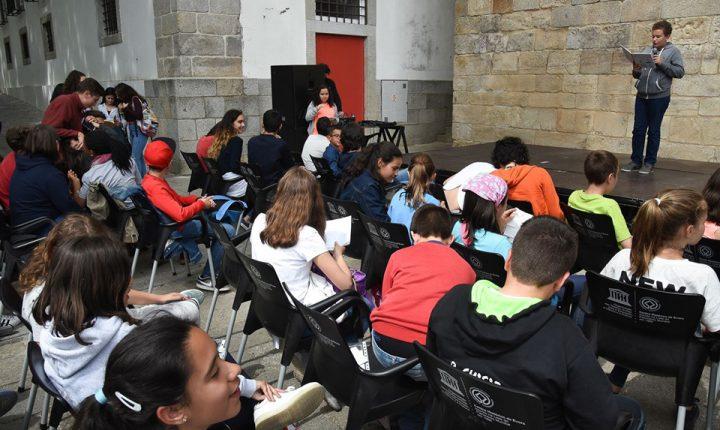 Alunos luso espanhóis homenageiam Sophia de Mello Breyner em Évora