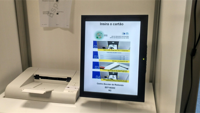 Voto eletrónico impede resultados por concelho e freguesia em Évora