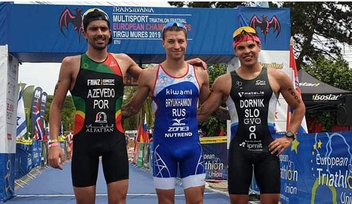 Eborense conquista prata no Campeonato da Europa de Triatlo