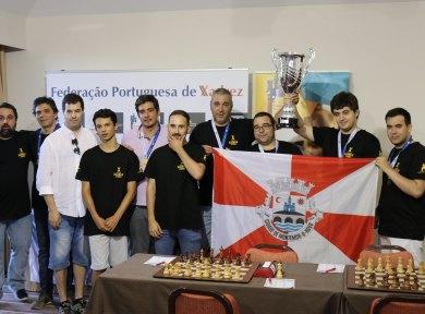 Equipa de Montemor-o-Novo conquista Taça de Portugal de Xadrez