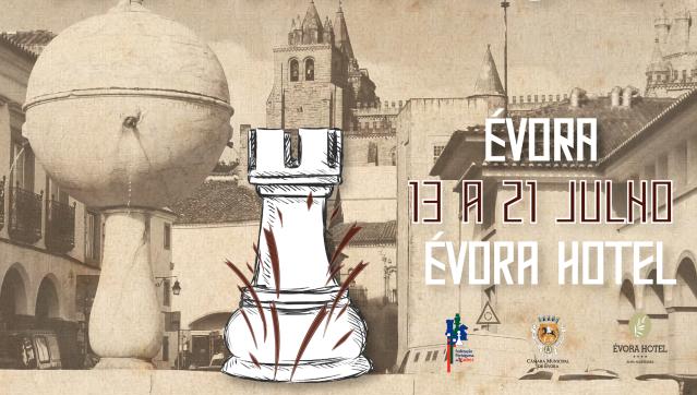 """Évora é """"capital nacional do xadrez"""" até dia 21"""