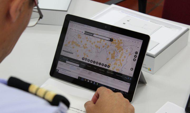 CIMAC entrega tablets para produção de informação geográfica