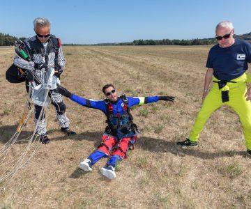 Évora recebe primeira formação de juízes de paraquedismo