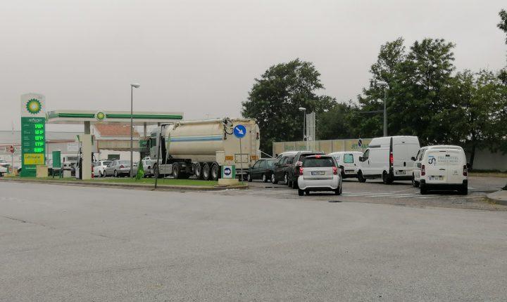 Já há postos de abastecimento em Évora sem combustíveis