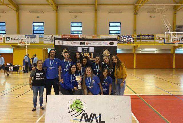 Juventude conquista Supertaça de voleibol em seniores femininos