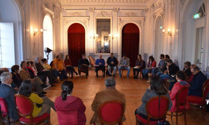 João Oliveira reúne com agentes do Alentejo sobre concursos da DGArtes