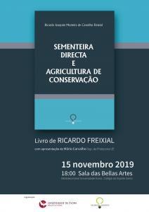 Livro sobre agricultura de conservação apresentado em Évora