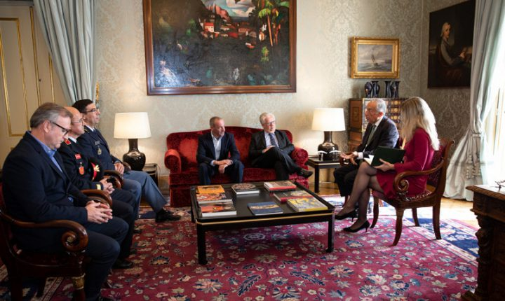 Presidente ouve exposições sobre incidentes com Bombeiros de Borba