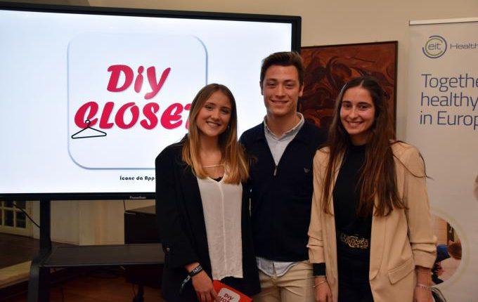 Protótipo criado por estudantes da UÉ permite desenhar roupa