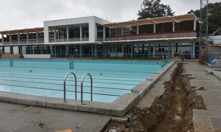 Remodelação das piscinas de Évora vai permitir reduzir consumo de água