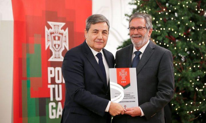 Associação de Futebol de Évora distinguida pela FPF