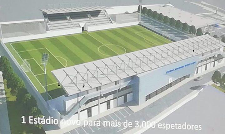 Câmara de Évora inicia processo para novo estádio do Juventude