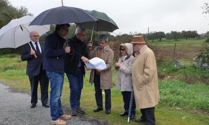 Deputados visitam local onde será construído novo hospital em Évora
