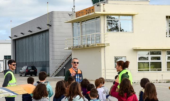 Alunos de Évora visitam aeródromo municipal