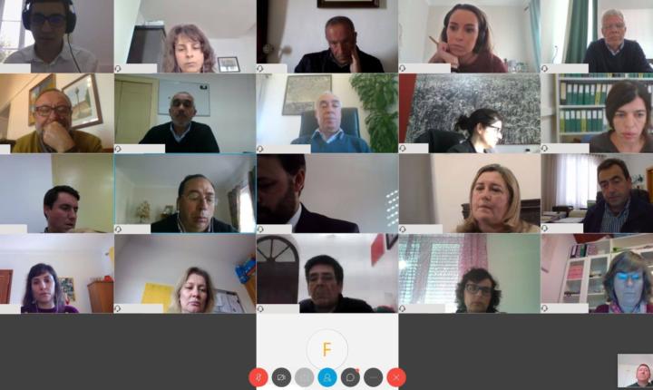 Covid-19: Conselho Intermunicipal da CIMAC reuniu por videoconferência