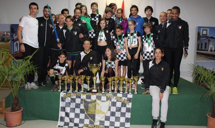 Clube Desportivo Diana conquista Critério de Corta-Mato Paulo Guerra