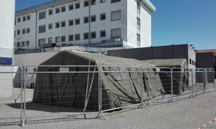 Oito doentes com Covid-19 internados em hospitais do Alentejo