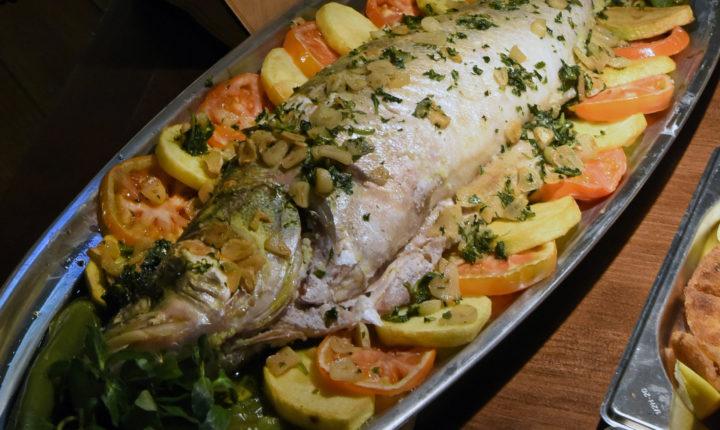 Peixe do rio 'reina' nos restaurantes de Alandroal até dia 30