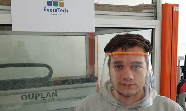 ÉvoraTech cria protótipo de escudo facial para profissionais de saúde