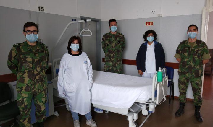 Centro de Saúde Militar disponibiliza 15 camas para doentes do hospital