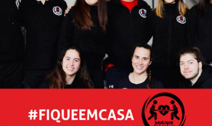 Ginásio de Évora presta apoio aos alunos por videochamada