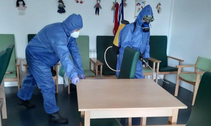 Câmara de Reguengos de Monsaraz inicia desinfeção dos lares de idosos