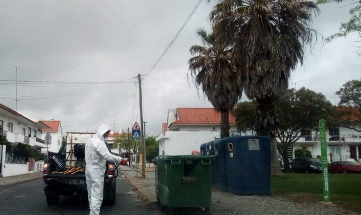 Câmara de Évora realiza trabalhos de limpeza e higienização