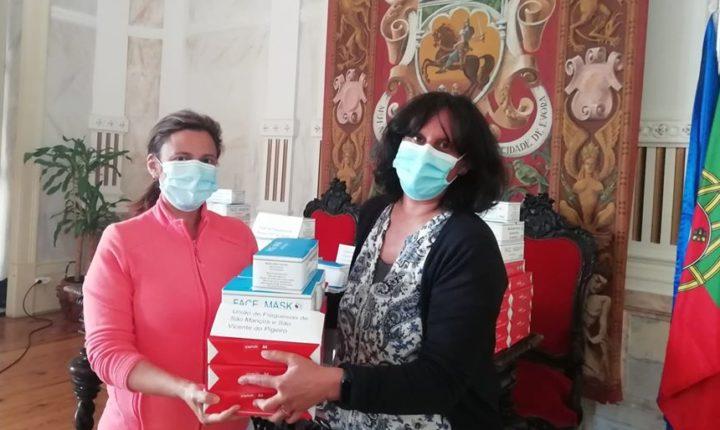 Câmara de Évora distribui máscaras de proteção às juntas de freguesias