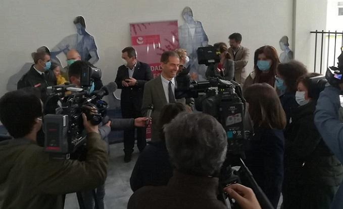 Governo elogia coordenação que permitiu criar laboratório covid-19 em Évora