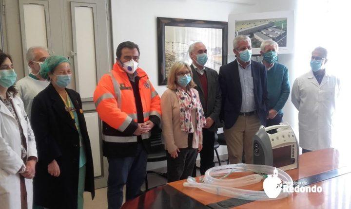 Autarcas entregam primeiros ventiladores ao hospital de Évora