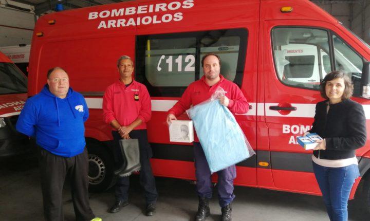 Câmara de Arraiolos atribui subsídio de 10 mil euros aos bombeiros