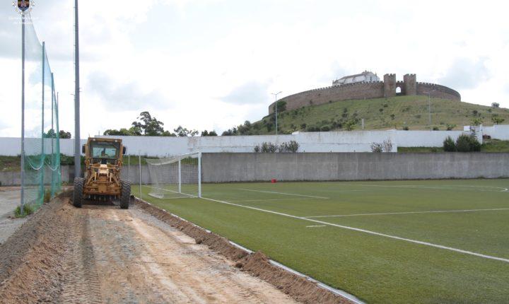 Arraiolos constrói pista de atletismo no Campo Cunha Rivara