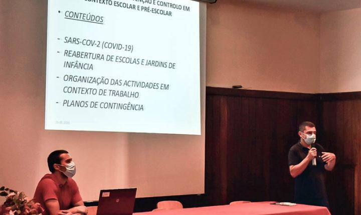 Câmara de Évora dinamiza ações para prevenção da covid-19 em contexto escolar