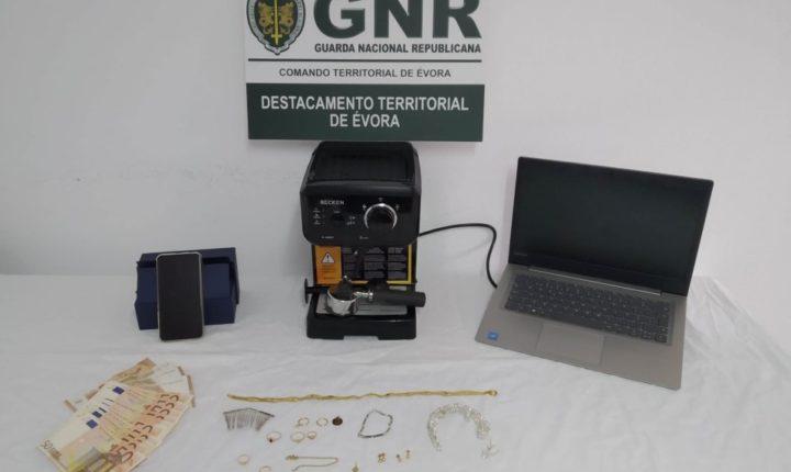 GNR recupera material furtado em Alcáçovas