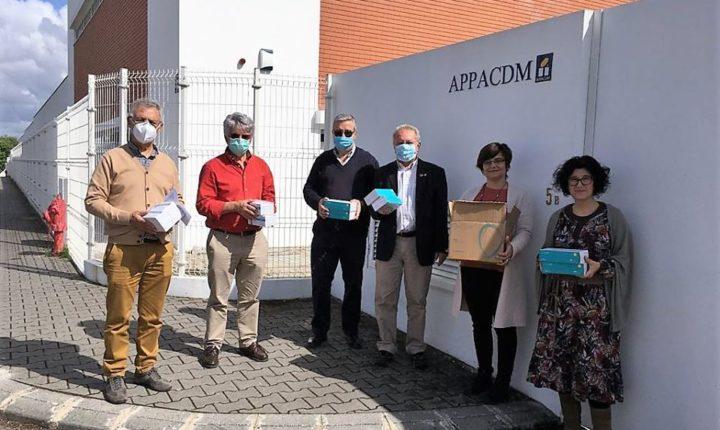 Rotary Clube de Évora distribui equipamentos de proteção individual