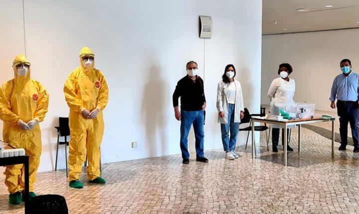 Trabalhadores de creches de Reguengos de Monsaraz testados à covid-19